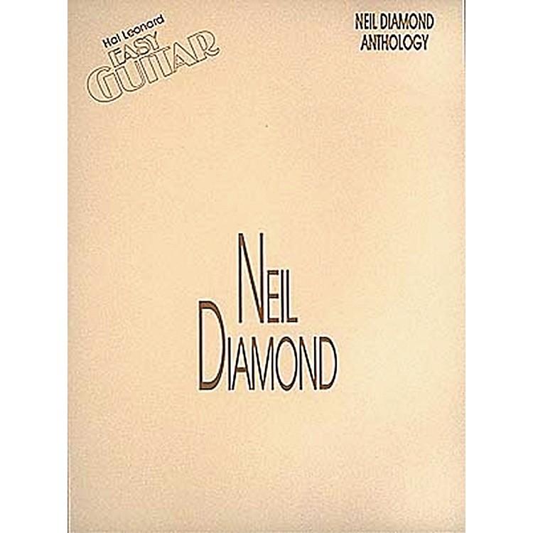 Hal LeonardNeil Diamond Anthology Easy Guitar Tab Songbook