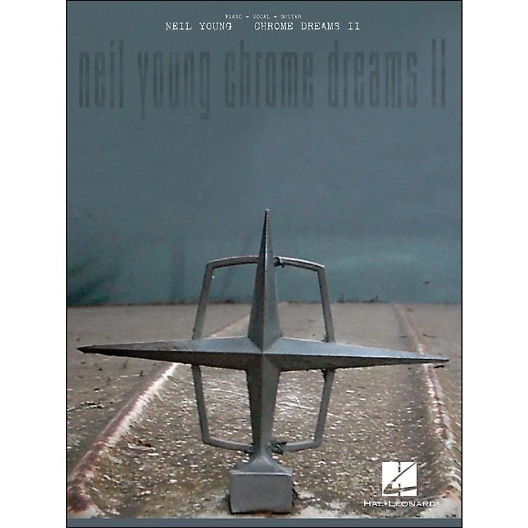 Hal LeonardNeil Young - Chrome Dreams Ii arranged for piano, vocal, and guitar (P/V/G)