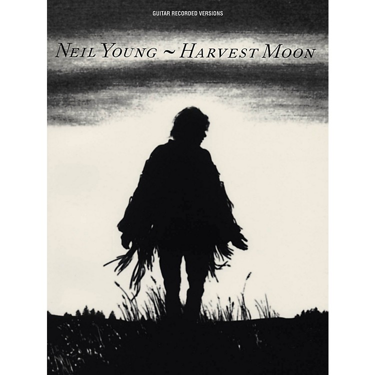Hal Leonard Neil Young - Harvest Moon Guitar Tab Songbook