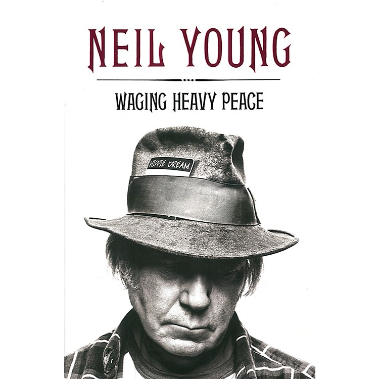 Penguin BooksNeil Young - Waging Heavy Peace Hardcover Book