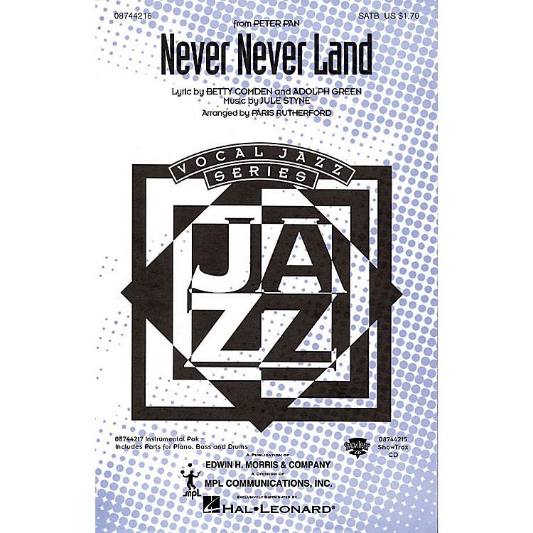 Hal LeonardNever Never Land SATB arranged by Paris Rutherford