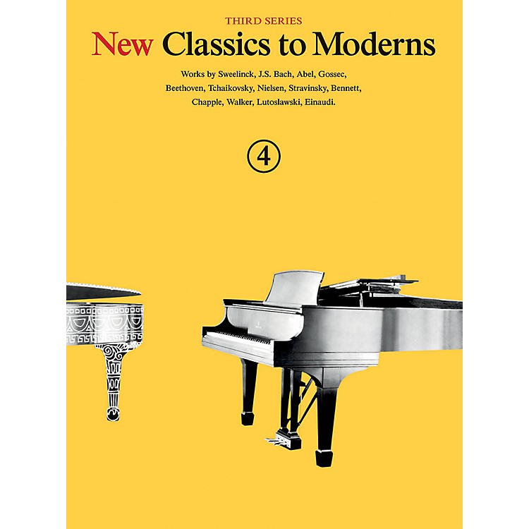 Music SalesNew Classics to Moderns - Third Series (Book 4) Music Sales America Series Softcover