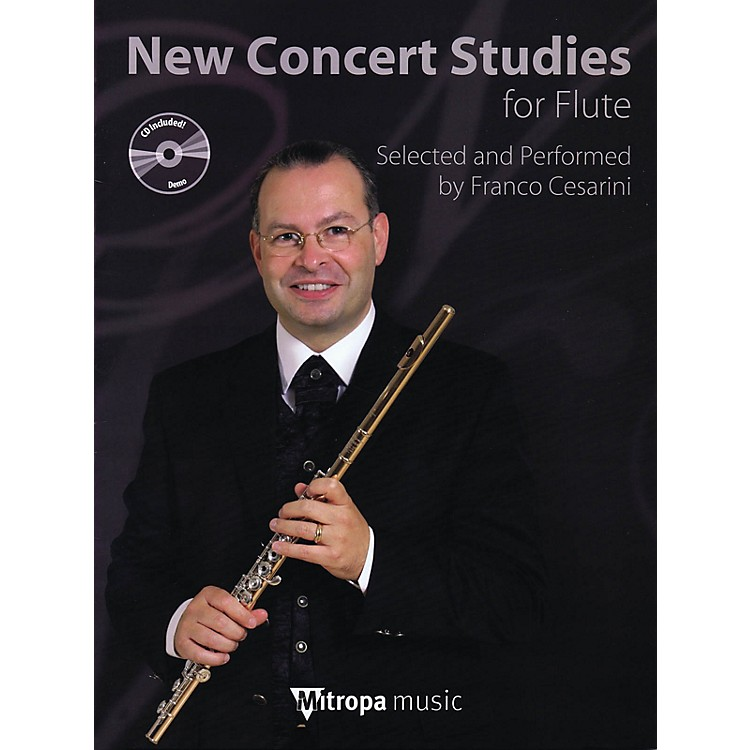 Mitropa MusicNew Concert Studies for Flute Mitropa Play-Along Book Series Arranged by Franco Cesarini