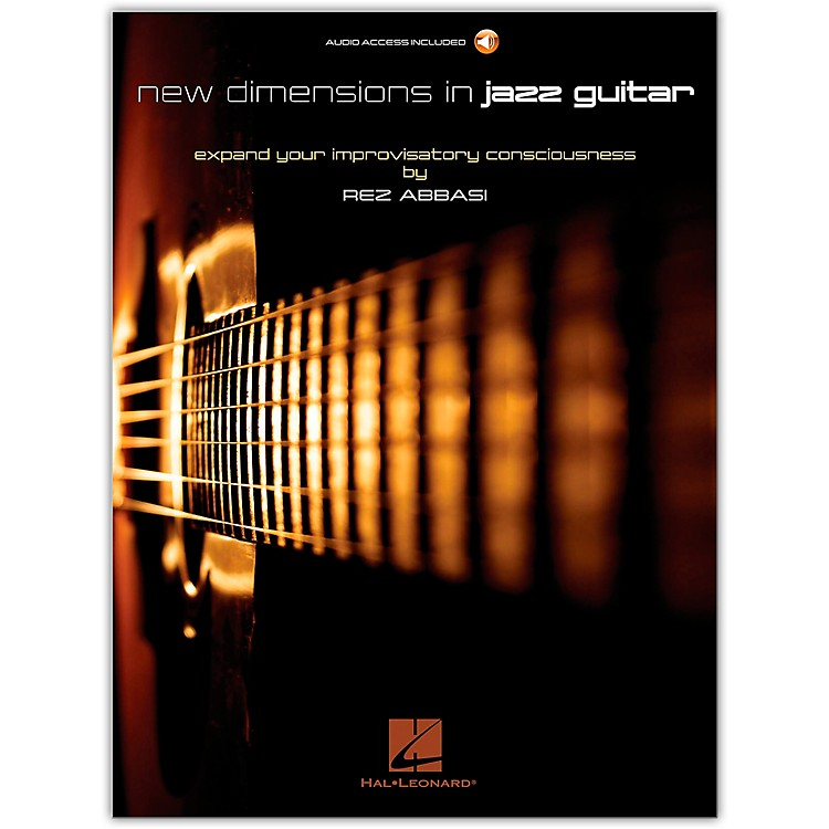 Hal Leonard New Dimensions in Jazz Guitar Guitar Book/Audio Online Written by Rez Abbasi