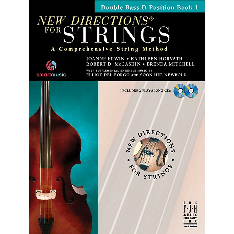 FJH MusicNew Directions For Strings, Double Bass D Position Book 1