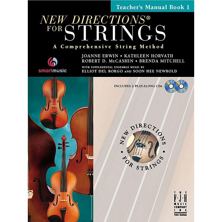 FJH MusicNew Directions For Strings, Teacher Manual Book 1