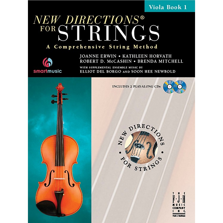 FJH Music New Directions For Strings, Viola Book 1