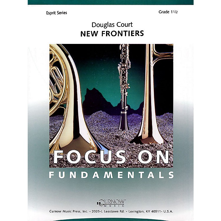 Curnow MusicNew Frontiers (Grade 1.5 - Score and Parts) Concert Band Level 1.5 Composed by Douglas Court