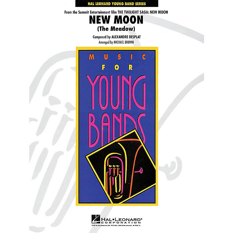 Hal LeonardNew Moon (The Meadow) - Young Concert Band Level 3 by Michael Brown