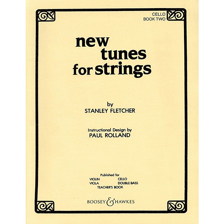 Boosey and Hawkes New Tunes for Strings - Book 1 Boosey & Hawkes Chamber Music Series Softcover by Stanley Fletcher
