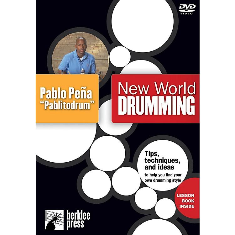 Berklee PressNew World Drumming Instructional/Drum/DVD Series DVD Performed by Pablo Peña
