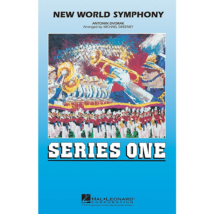 Hal LeonardNew World Symphony Marching Band Level 2 Arranged by Michael Sweeney