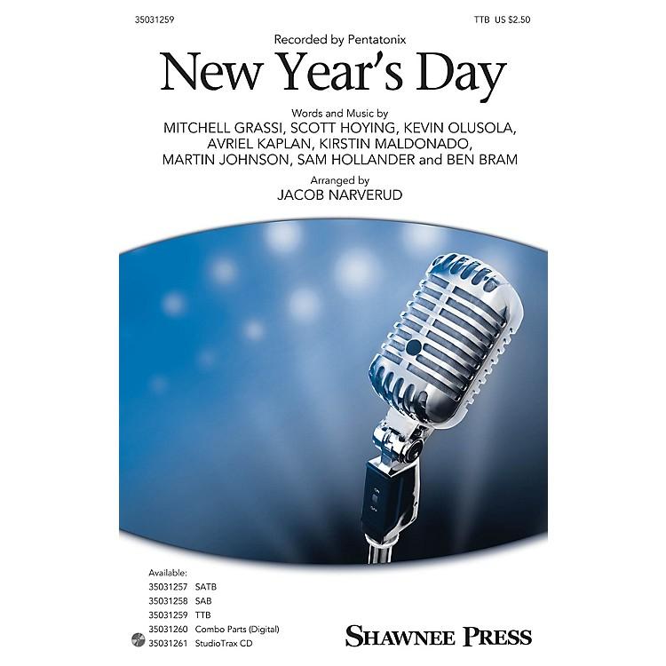 Shawnee PressNew Year's Day TTB by Pentatonix arranged by Jacob Narverud