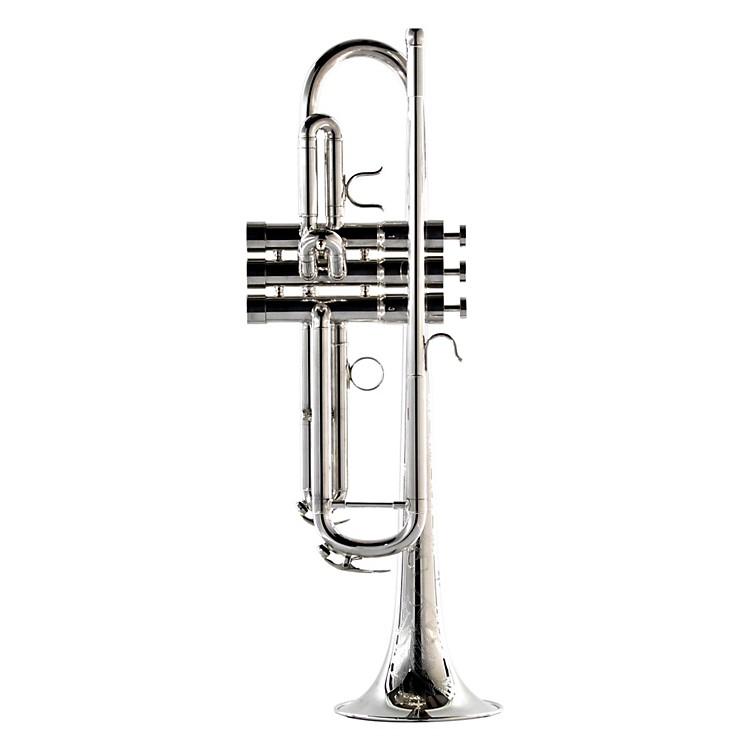 BAC Custom BrassNew York City Model Professional Bb TrumpetNYCS Silver888365007953