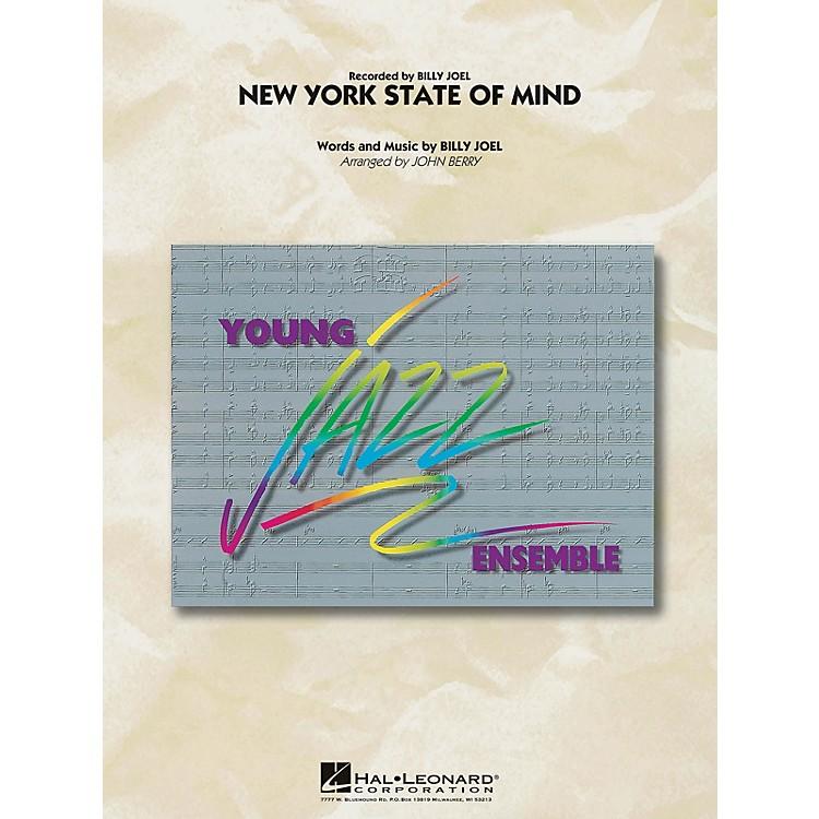 Hal LeonardNew York State of Mind Jazz Band Level 3 Arranged by John Berry