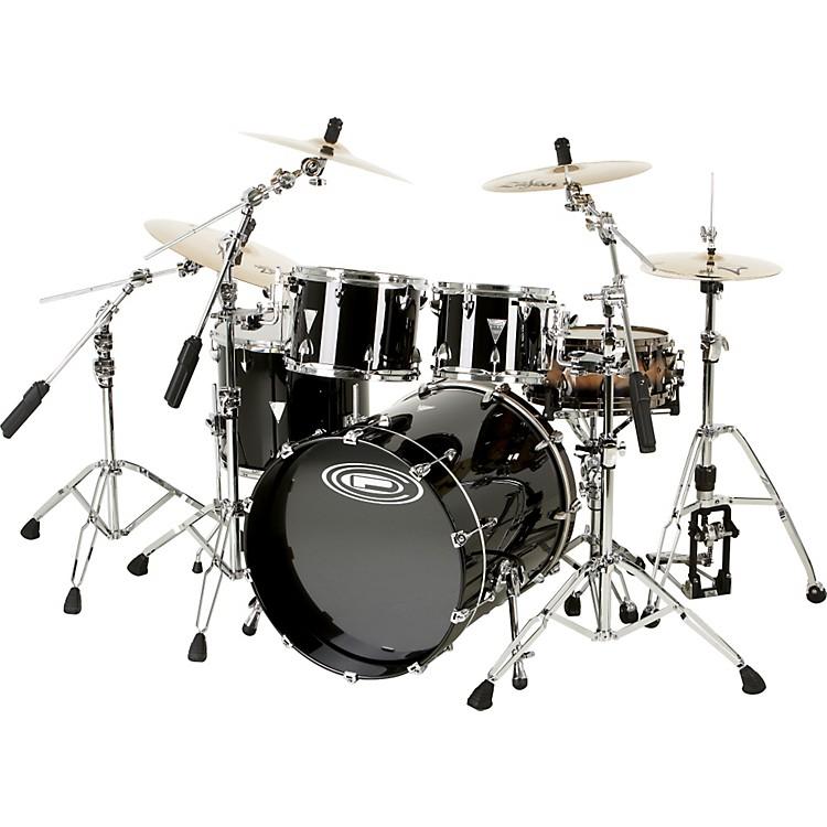 Orange County Drum & PercussionNewport 4-Piece Shell PackBlack Gold Glitter