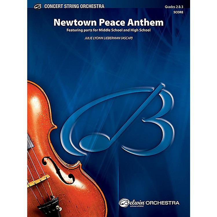 Alfred Newtown Peace Anthem String Orchestra Grade 2 & 3 Set