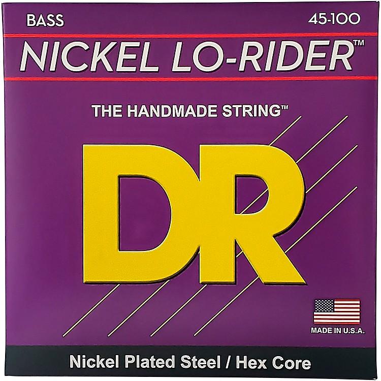 DR StringsNickel Medium Light Lo-Riders 4-String Bass Strings