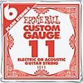 Ernie BallNickel Plain Single Guitar String.008 Gauge6-Pack thumbnail