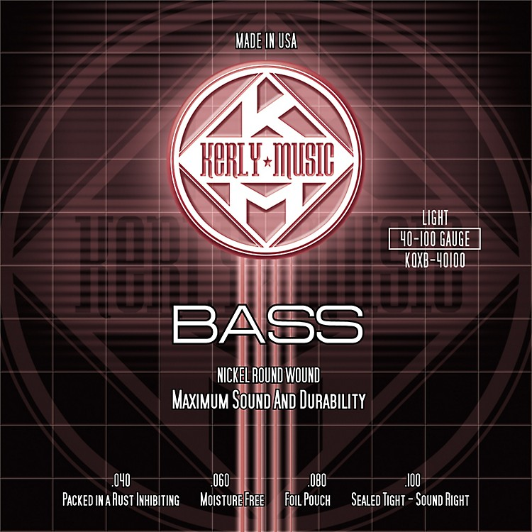 Kerly MusicNickel Plated Bass Strings Light