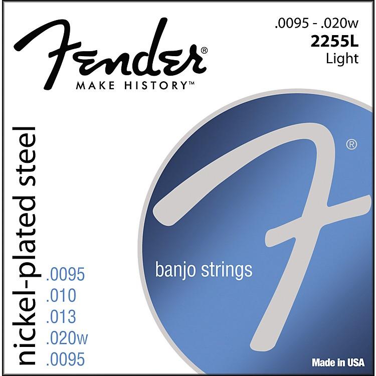 FenderNickel-Plated Steel Banjo Strings - Light