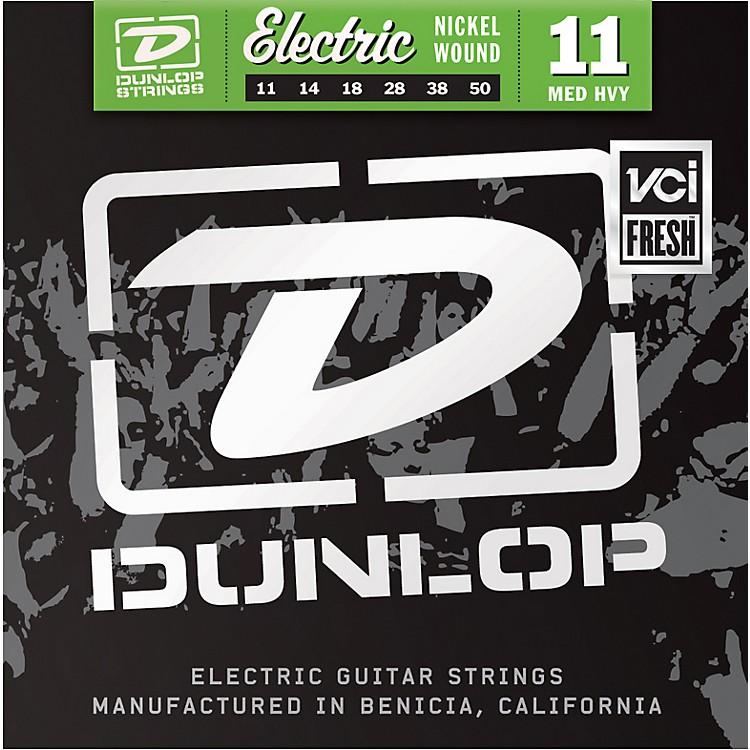 DunlopNickel Plated Steel Electric Guitar Strings - Medium Heavy