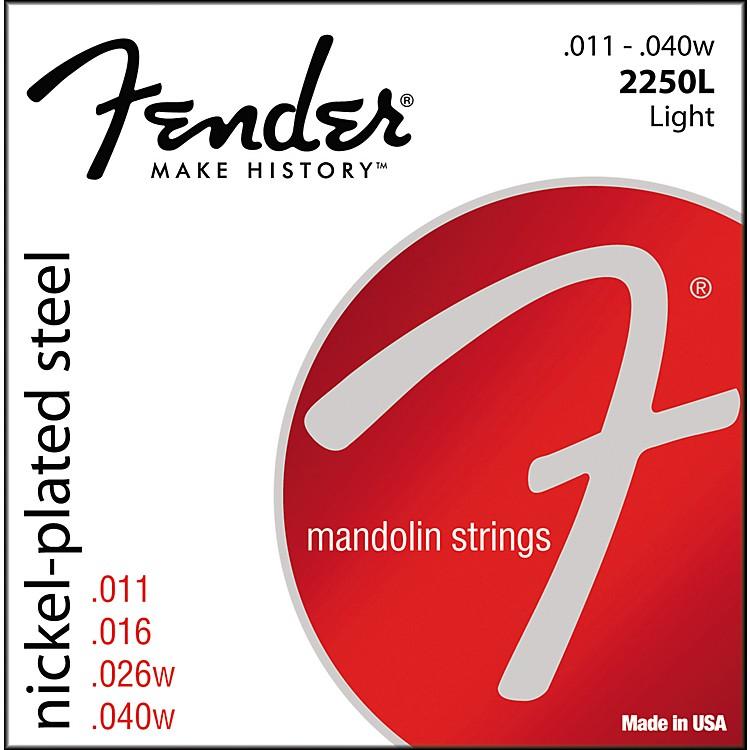 FenderNickel-Plated Steel Mandolin Strings - Light