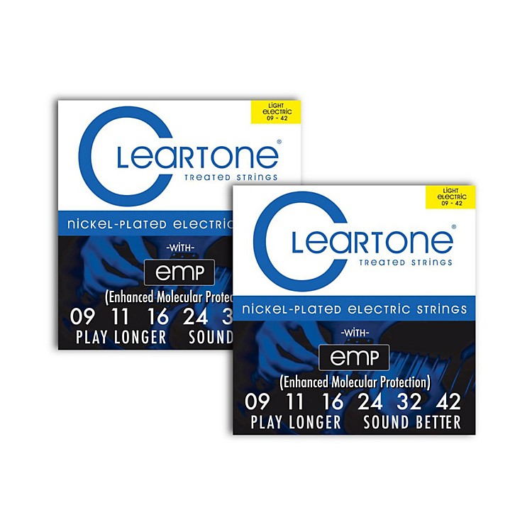 CleartoneNickel-Plated Super Light Electric Guitar Strings .09 - .422-Pack