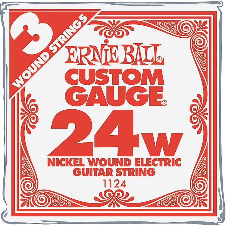 Ernie BallNickel Wound Single Guitar Strings 3-Pack.024 Gauge3-Pack