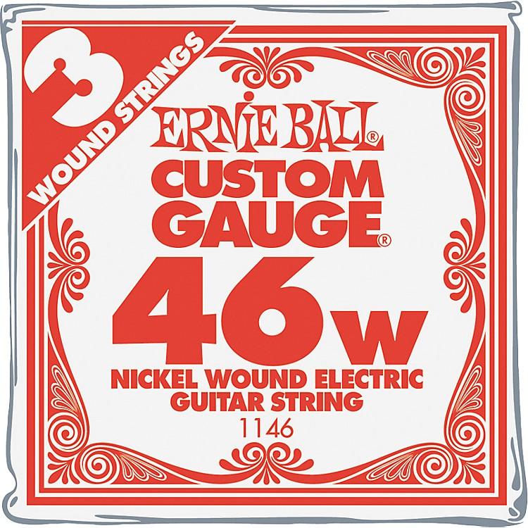 Ernie BallNickel Wound Single Guitar Strings 3-Pack.046 Gauge3-Pack