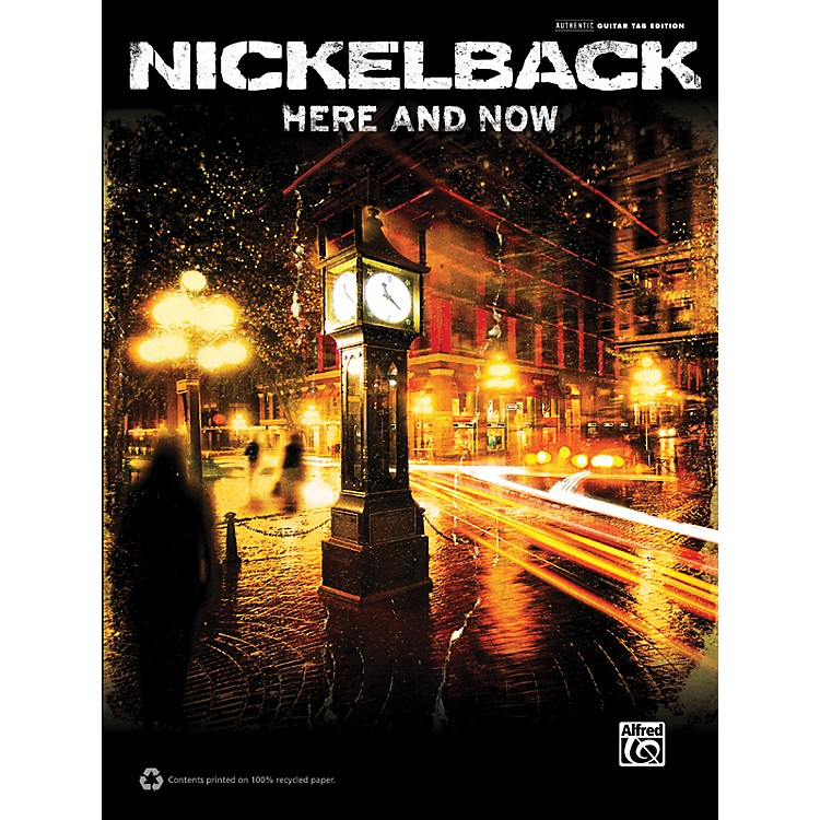 AlfredNickelback Here and Now Guitar TAB Book