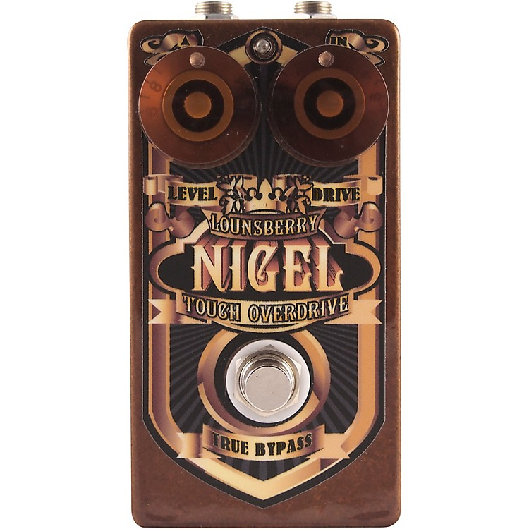Lounsberry PedalsNigel Overdrive Effects Pedal