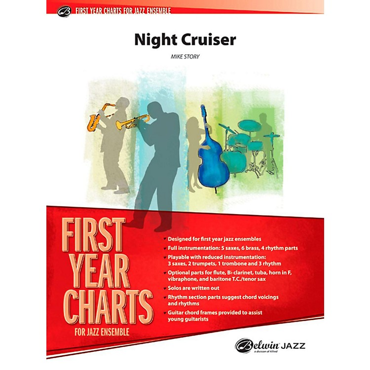 Alfred Night Cruiser Jazz Band Grade 1