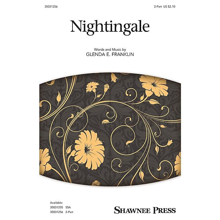 Shawnee PressNightingale 2-Part composed by Glenda E. Franklin