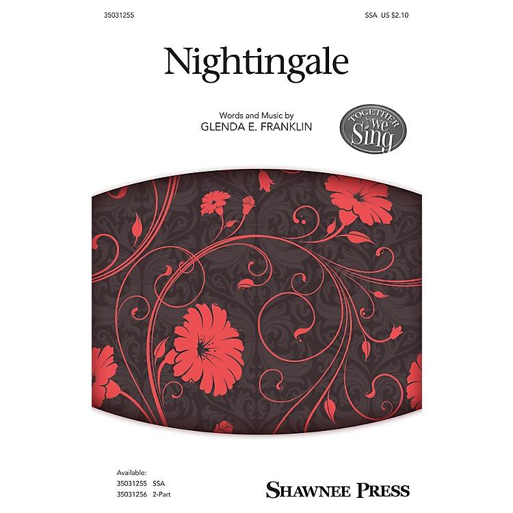 Shawnee PressNightingale SSA composed by Glenda E. Franklin