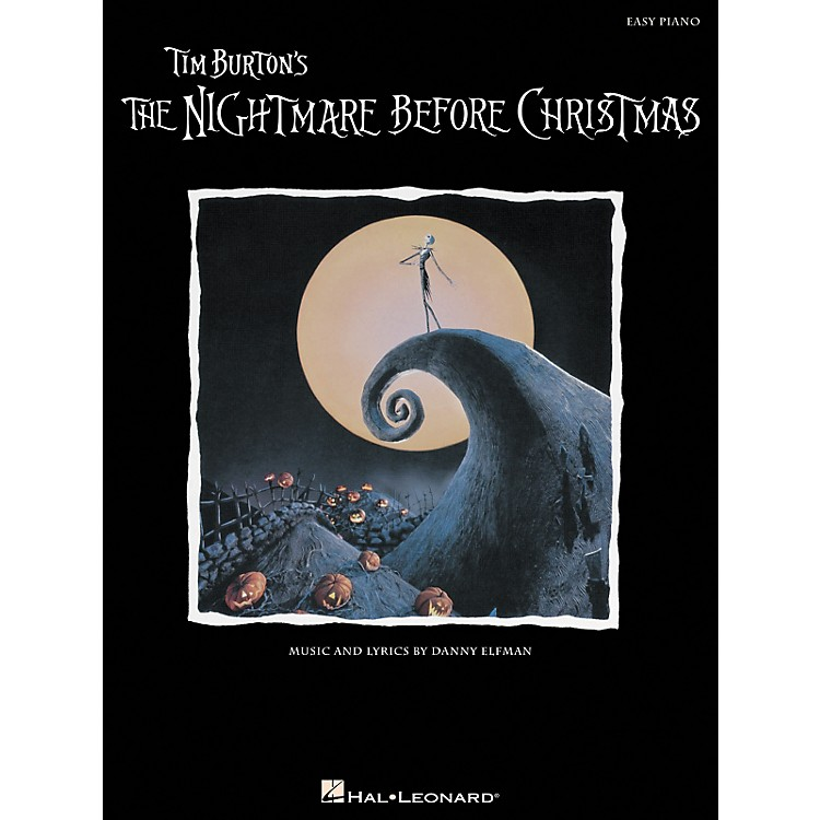 Hal LeonardNightmare Before Christmas For Easy Piano