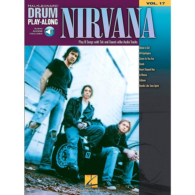 Hal LeonardNirvana - Drum Play-Along Volume 17 Book/CD Set
