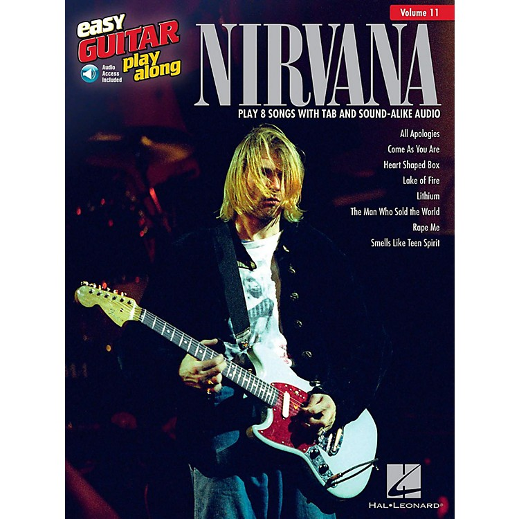 Hal Leonard Nirvana - Easy Guitar Play-Along Volume 11 Book/Audio Online