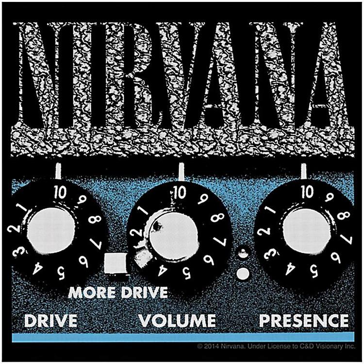 C&D VisionaryNirvana Amp Sticker