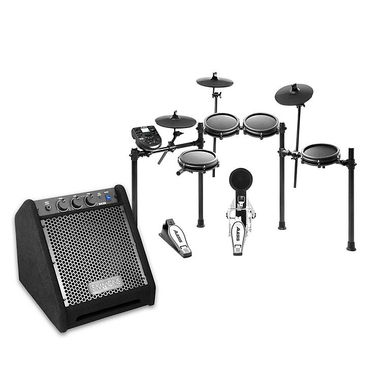 AlesisNitro Mesh Electronic Drum Set with DA25 Amp
