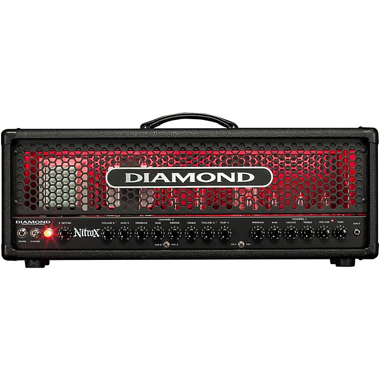 Diamond AmplificationNitrox USA Custom Series 100W Modern Tube Guitar Amp Head