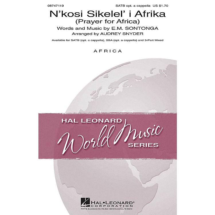 Hal LeonardN'kosi Sikelel' I Afrika (Prayer for Africa) SATB arranged by Audrey Snyder