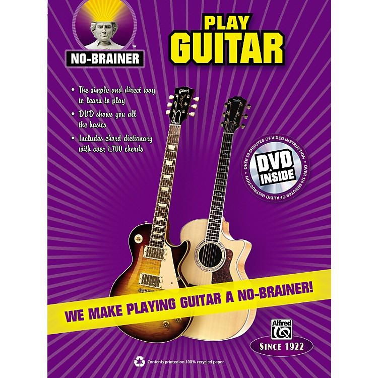 AlfredNo-Brainer Play Guitar Book & CD