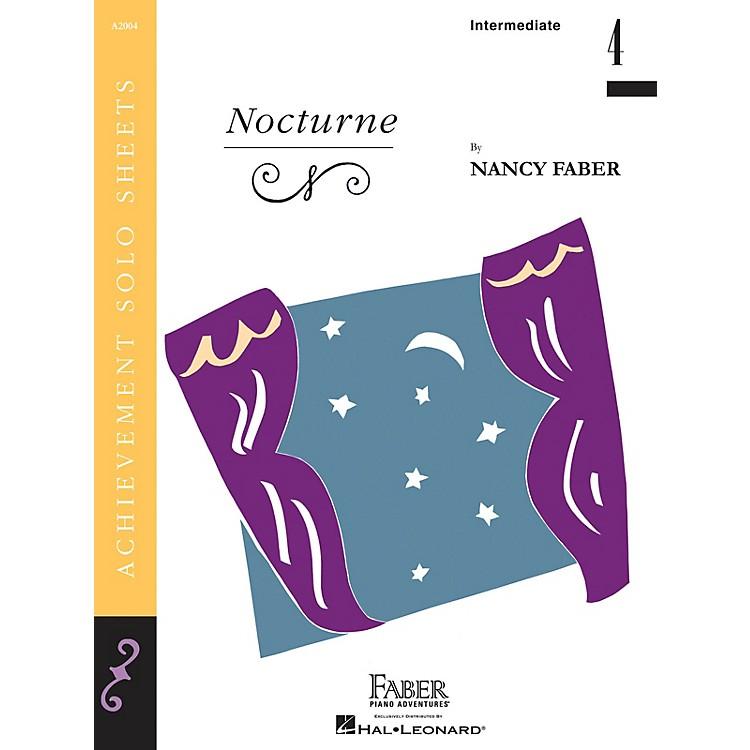 Faber Piano AdventuresNocturne (Inter/Level 4 Piano Solo) Faber Piano Adventures® Series by Nancy Faber
