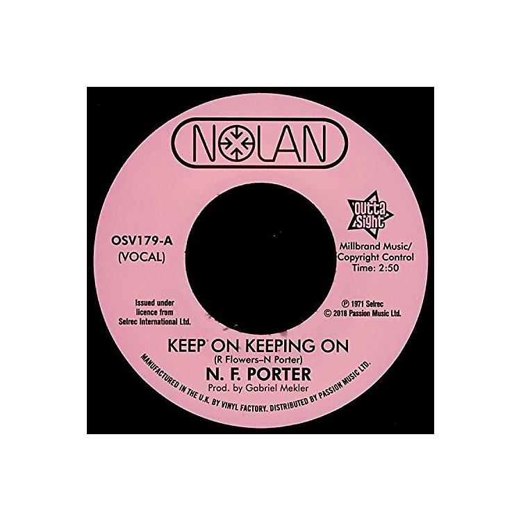 AllianceNolan Porter - Keep On Keeping On / If I Could Only Be Sure