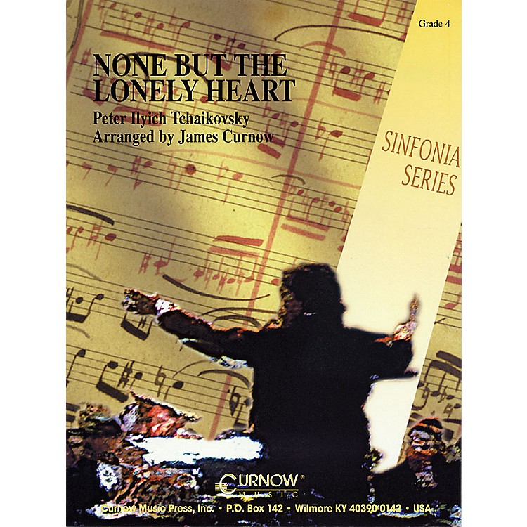 Curnow Music None But the Lonely Heart (Grade 4 - Score Only) Concert Band Level 4 Arranged by James Curnow