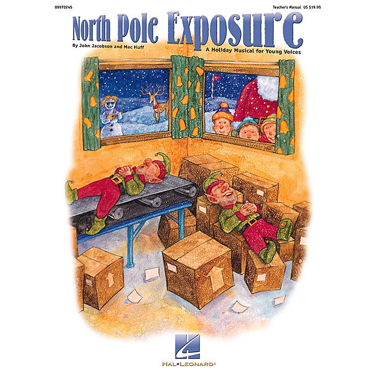 Hal LeonardNorth Pole Exposure (A Holiday Musical for Young Voices) ShowTrax CD Composed by John Jacobson
