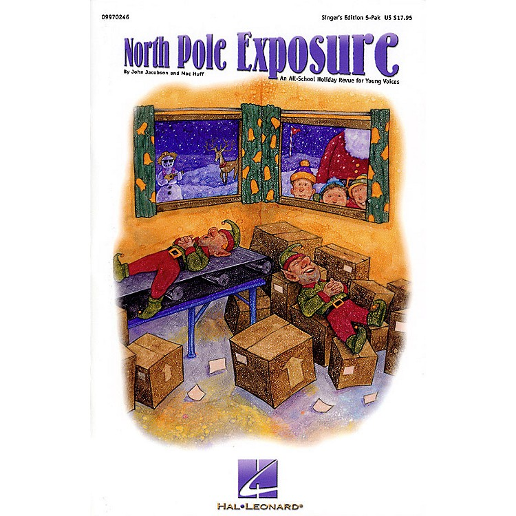 Hal Leonard North Pole Exposure (A Holiday Musical for Young Voices) Singer 5 Pak Composed by John Jacobson