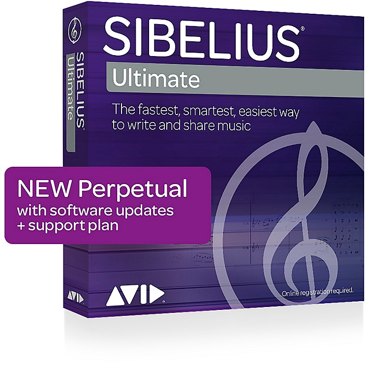 SibeliusNotation Software with Support