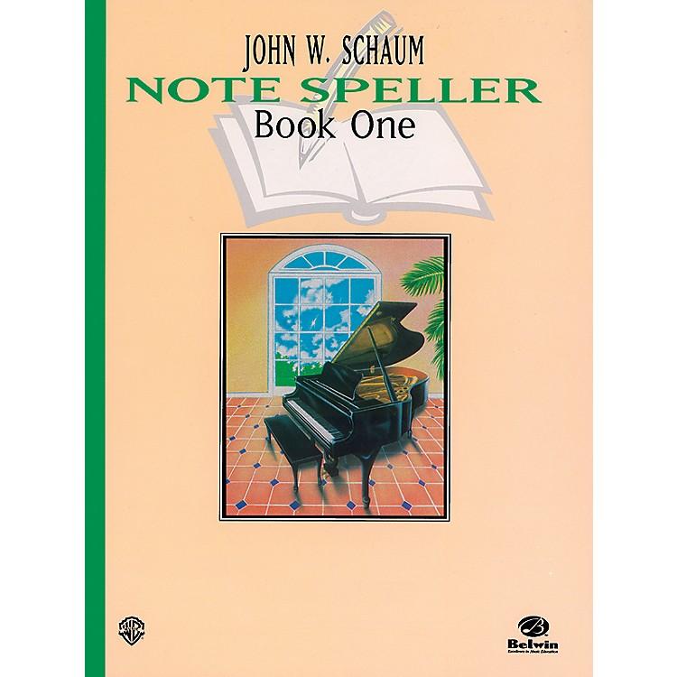 AlfredNote Speller, Book 1 (Revised) Book